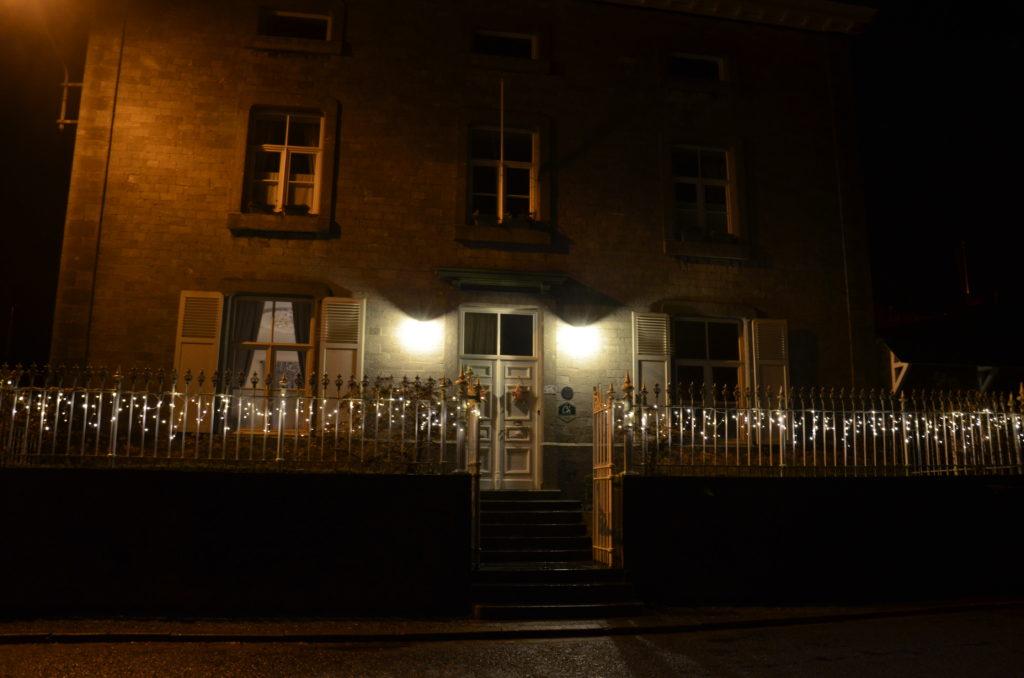 la maison du meunier illuminée a la marche gourmande