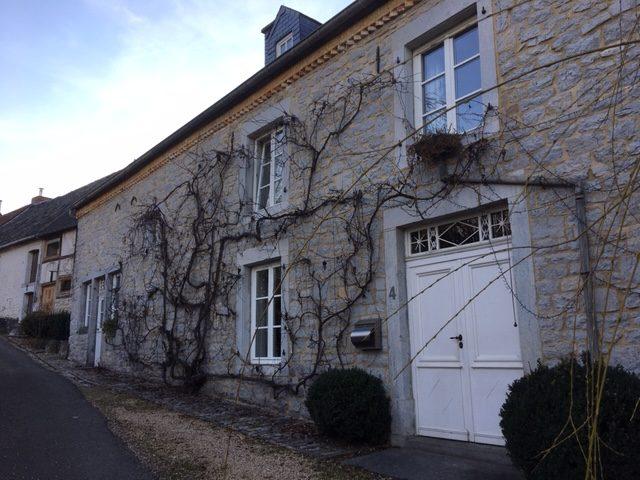 maisons typiques à Crupet