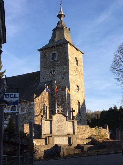 l'eglise de Saint Martin à Crupet