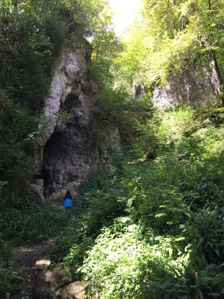 caverne dans le parc de furfooz