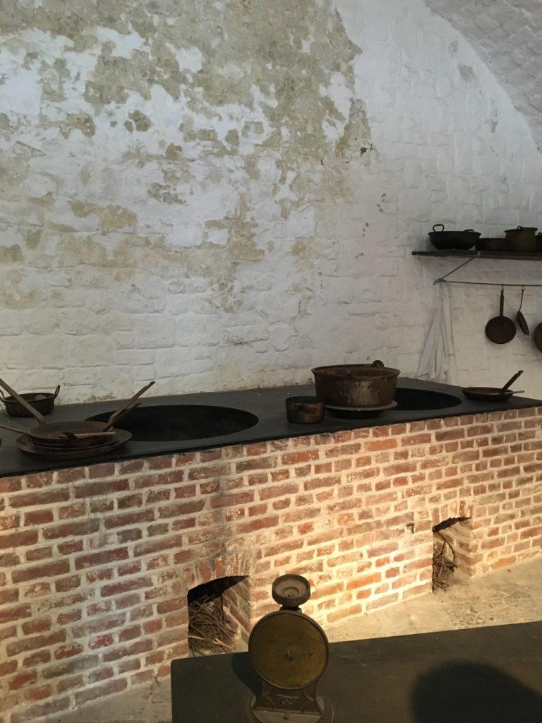 cuisine de la citadelle de dinant