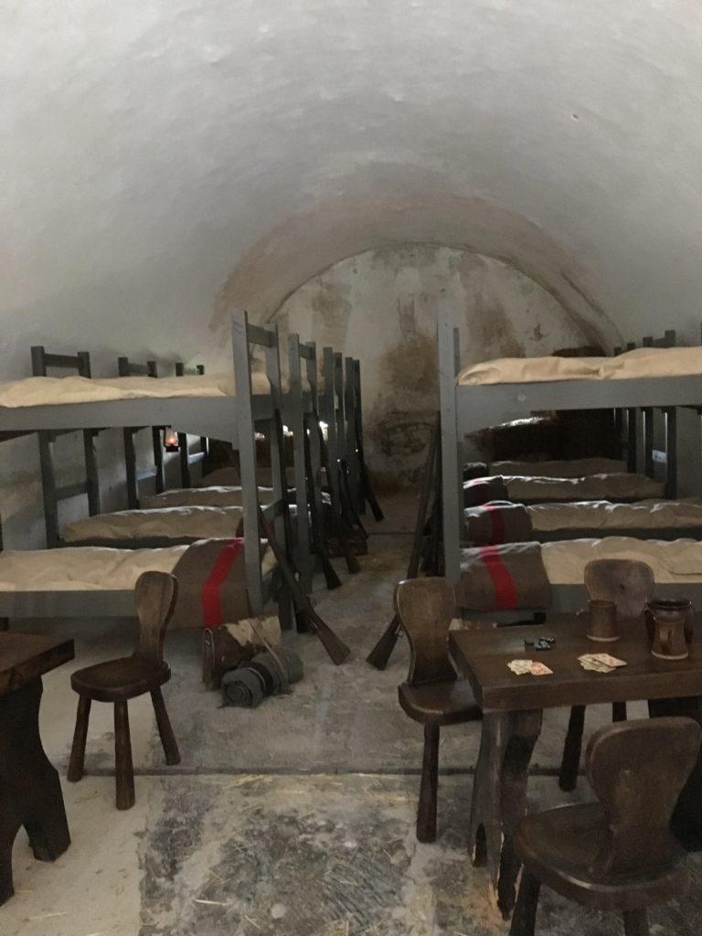 dortoirs des soldats