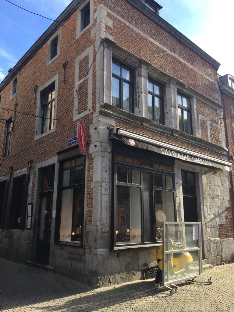 le tea-time café à Namur